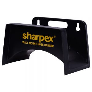 Sharpex Wall Mount Hose Hanger with Durable Steel Material (Black)